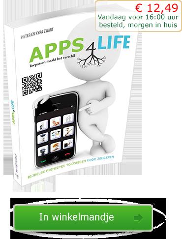 Apps 4 Life boek - Pieter en Kyra Zwart - 9789078893226